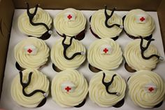 For all the Doctors and Nurses in your life.  We happen to have a couple.  Wonder how you mail cupcakes?
