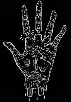 Hand of the Mysteries. The Alchemical Symbol of Apotheosis, the Transformation of man into God, is traditionally represented by an image of a Hand with other Symbols, including skulls, stars, keys,...