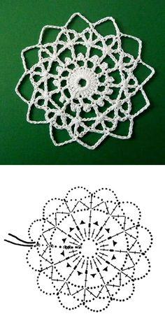 Best 12 Star of David Lace Crochet Motifs / 별 모양 모티브도안 – SkillOfKing. Crochet Snowflake Pattern, Crochet Stars, Christmas Crochet Patterns, Crochet Snowflakes, Doily Patterns, Thread Crochet, Crochet Motif, Crochet Doilies, Crochet Flowers