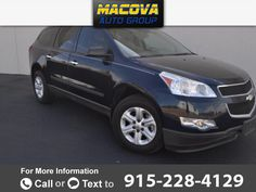 2011 *Chevrolet* *Chevy*  *Traverse* *LS*  100k miles Call for Price 100359 miles 915-228-4129 Transmission: Automatic  #Chevrolet #Traverse #used #cars #MacovaAutoGroup #ElPaso #TX #tapcars