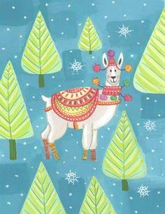 Kay Widdowson - Alpaca Christmas Low Res