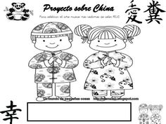 Fichas proyecto China Lol, Comics, Hair, Chinese Writing, Chinese Culture, 3 Year Olds, Index Cards, Projects, Chinese