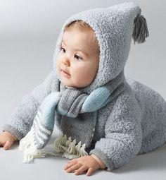 Modèle manteau bébé