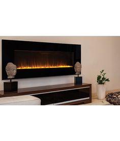 "Superior Electric Wall Mount Fireplace (54"" or 60"") $899.10"