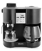$119 sale 12/11/15 Macy's $170 Krups XP160050 Espresso & Coffee Maker, Steam Combi