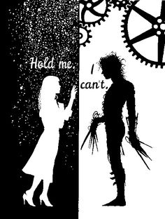 Edward Scissorhands, Art, Movie, Quote.