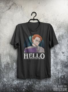 Hello From The Other Side - Barb Parody Adults T-Shirt.  Available in both mens and womens sizes our garments are printed to order and dispatched within 1 business day.  We are based in the UK but ship worldwide. UK delivery is Free. There is a size chart in the image gallery for this product. Our ladies t-shirts are slightly fitted so please check the size chart before ordering.  each orders is dispatched with return/exchange instructions so you can easily return and exchange any items that…