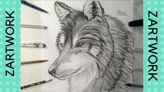 Easy way to draw an awesome wolf Hi everyone, this is is a time lapse showing you how I drew this awesome wolf. Cool Pencil Drawings, Wolf, Cool Stuff, Watch, Create, Disney, Link, Art, Art Background