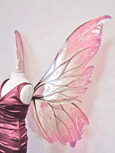 Fairy Wings Drawing, Diy Fairy Wings, Tinker Bell Cosplay, Fairy Cosplay, Butterfly Fairy, Butterfly Wings, Wings Sketch, Renaissance Festival Costumes, Moon Fairy