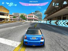 Driving game on the iphone