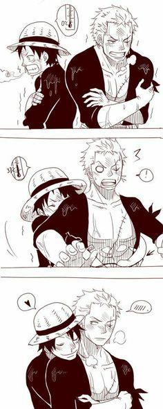 Zoro y Luffy