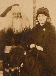 Creepy Santa Claus Photos