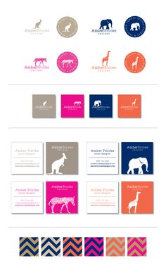 Branding -- Amber Brooke Designs // If pinning, please credit © the-summerhouse.com