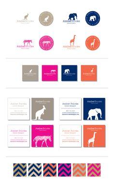 Branding -- Amber Brooke Designs // If pinning, please credit © the-summerhouse.com