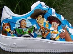 Custom Toy Story Nike Air Force One's
