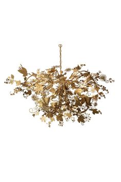 Small Ivy Chandelier | MCL37S | Ceiling lights, Ceiling Light, Tord Boontje | Porta Romana