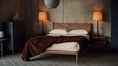 Hoxton Handmade Bed | Special Edition | Natural Bed Company Timber Beds, Wood Beds, Winter Bedroom, Bed Company, Bed Slats, Under Bed, Furniture Companies, Handmade Wooden, Bed Frame