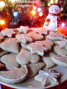 Gabriella kalandjai a konyhában :) Xmas, Christmas, Gingerbread Cookies, Sugar, Cheese, Cake, Food, Deco, Gingerbread Cupcakes