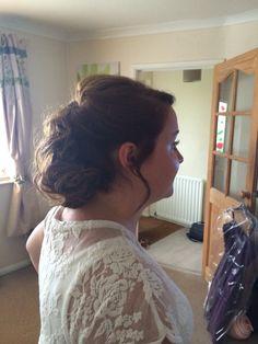 Curl up do - wedding/vintage look