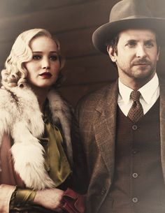 Jennifer Lawrence and Bradley Cooper in Serena coming out this year!