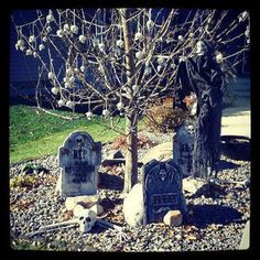 """Halloween - Backyard Fun: Learn how to play the game """"Ghost in the Graveyard"""" Halloween Activities For Kids, More Fun, Lion Sculpture, Backyard, Statue, Play, Game, Patio, Backyards"""