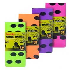 Girls Tights - Spots And Stripes - Halloween Fancy Dress - Halloween