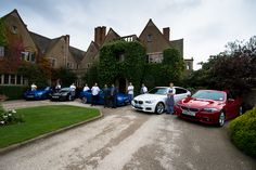 Chefs line up with the BMW's from Rybrook Warwick. Image - http://www.jonheadphotography.com