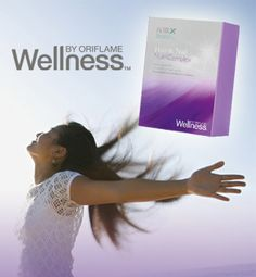 Wellness by Oriflame Hair & Nail Complex helps you to get beautiful nails (and hair)