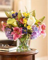 Medium to Large Silk Flower Arrangements| Artificial Centerpieces