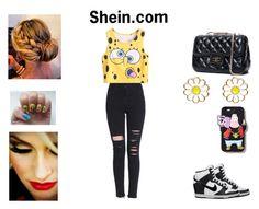 """Shein"" by samyiahally on Polyvore"