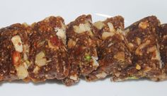 Savispassions: Dry fruit/Nut Burfi with Dates and Fig fruits or D...