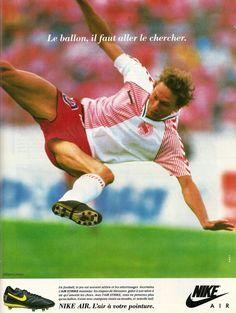 0ea69ddc5 Nike. Preben Elkjaer Larsen. ~ THE VINTAGE FOOTBALL CLUB