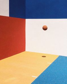 "49 Likes, 2 Comments - Oaks of Acorn (@oaksofacorn) on Instagram: ""S / S 17 - Let's Get Athletic! Basketball court in Mondrian style - De Stijl . . .…"""