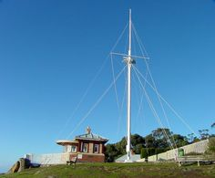 Mt Nelson Signal Station. #Hobart #Tasmania Photo by Dan Fellow, article for think-tasmania.com