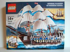 LEGO 10210 Imperial Flagship - Box art front | Flickr - Photo Sharing!