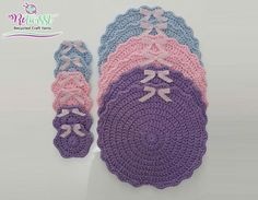 If you want to make  placemats like this, just take a look to our ReTwisst Ribbon Yarns
