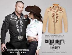 Te presentamos nuestra nueva línea Rafael Amaya Western Style con modelos hechos para vaqueros con estilo. #MundoWestern #TerritorioRangers #ArreVaquero