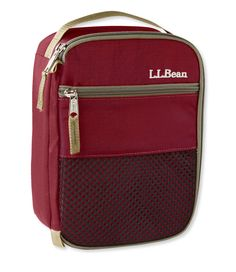 FOR MATT - LL Bean Lunch Box - Color: Deep Rosewood or one of the blues.