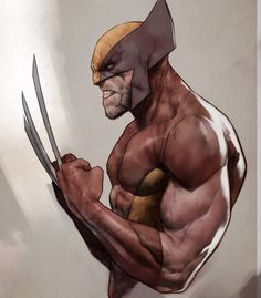 Wolverine by Ben Oliver * Marvel Comic Character, Marvel Characters, Character Art, Wolverine Character, Rogue Comics, Marvel Comics Art, Marvel Heroes, Comic Art, Comic Books Art