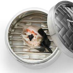 Ravioli aux crevettes et à l'encre de seiche - une recette Recettes de chefs - Cuisine   Le Figaro Madame