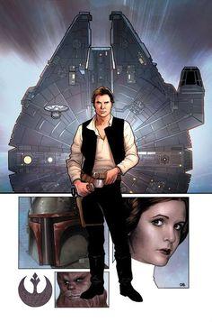 Star Wars #1 by Frank Cho