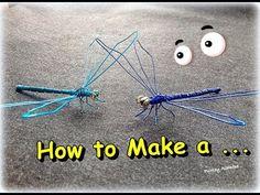 como hacer un alacran de alambre muy facil - YouTube