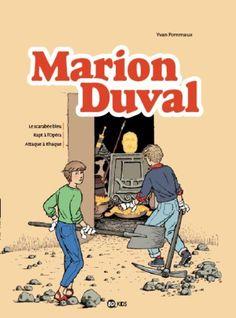 Les BD de l'été : Marion Duval Intégrale : Tome 1 Le scarabée bleu ; Rapt à l'Opéra ; Attaque à Ithaque : Les Sandales d'Empédocle librairie...