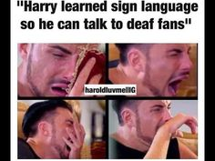 that is so sweet<3I, m hwrd of hearing maybe I could teach him sign language if I ever met him