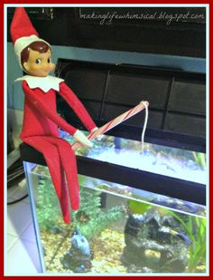 Elf fishing