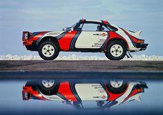 Porsche 911SC Rallye East African Safari 1978