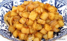 How to make Korean Braised Potatoes, Gamja Jorim | Crazy Korean Cooking - So yummy! Zach's favorite Korean side dish. Might add more sugar next time as he likes it a bit sweeter.