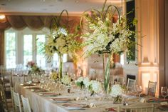 Real Wedding: Whitney and Keegan | Real Weddings | Photo by Love Life Images | Venue: Chevy Chase Club | Florist: English Garden Flowers