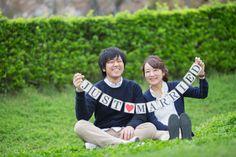 私服でロケーション前撮り(エンゲージメントフォト) - 結婚式の写真撮影 ウェディングカメラマン寺川昌宏(ブライダルフォト)