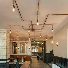 Elektro en verlichting aangelegd voor Café De Ebeling - Amsterdam - D. van Gils Electrotechniek